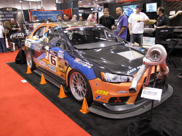 ams time attack evo x at the 2009 sema show picture