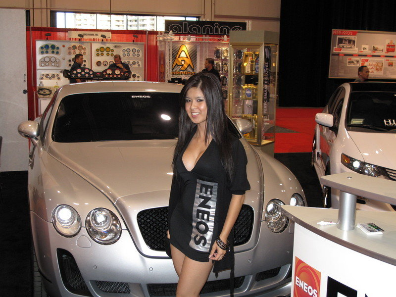 Eneos brings out a few high end rides at the 2009 SEMA Show