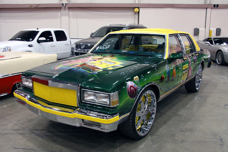 SpongeBob Squarepants makes an appearance at SEMA