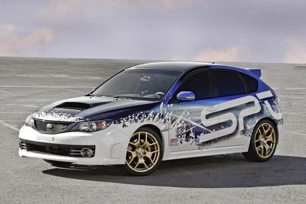 subaru wrx sti by spt picture