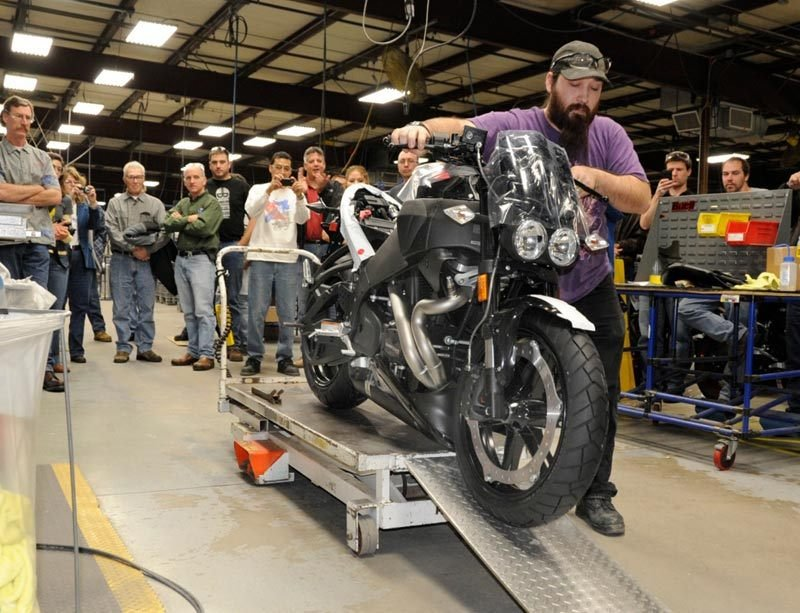 Last Buell leaves production line