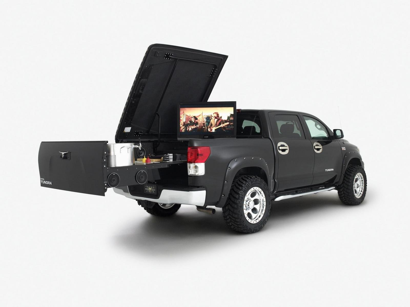 2009 Toyota Tundra Midnight Rider Tailgater By Brooks