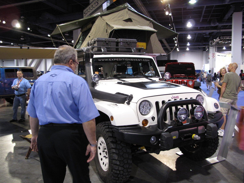 Jeep Wrangler Overland at the 2009 SEMA Show