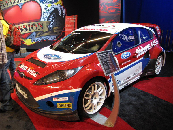x-games rally fiesta at the 2009 sema show picture