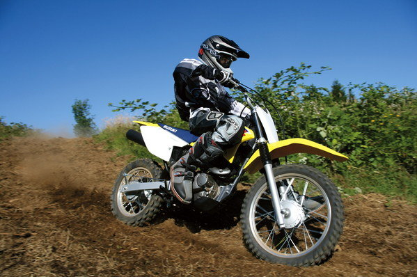 2010 suzuki dr-z125 / dr-z125l review - top speed