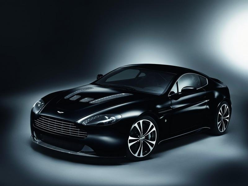2010 Aston Martin DBS and V12 Vantage Carbon Black