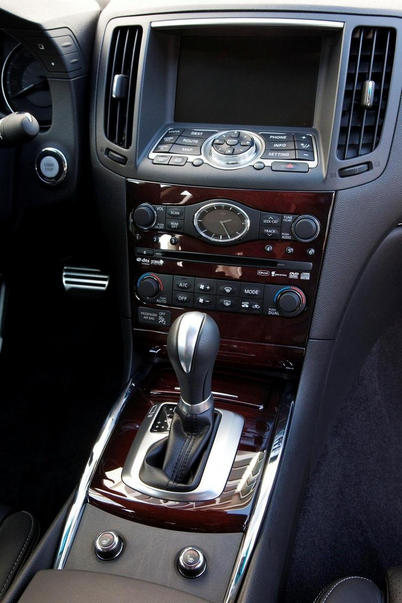 2010 Infiniti G Sedan and Coupe prices announced High Resolution Interior - image 339226