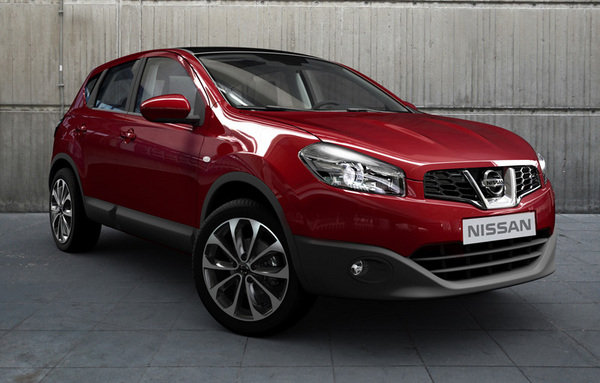 2011 nissan qashqai facelift car review top speed. Black Bedroom Furniture Sets. Home Design Ideas