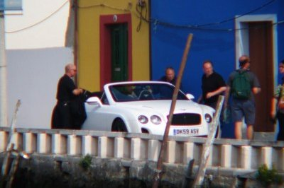 Bentley Continental Supersports Convertible spy shots
