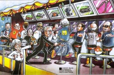 Bernie Ecclestone releases 2009 'F1 parody' Christmas cards - image 339653