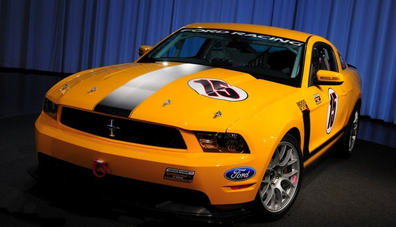 Ford prepares to go road racing with the Boss 302R Mustang High Resolution Exterior - image 339983