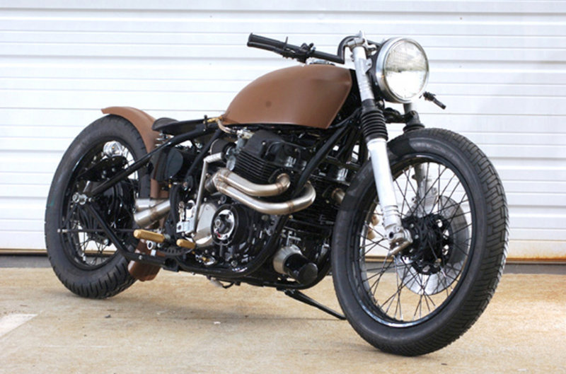 Honda Cb750 Cafe Racer >> Honda Cb750 Cafe Racer Is Made To Turn Heads Top Speed