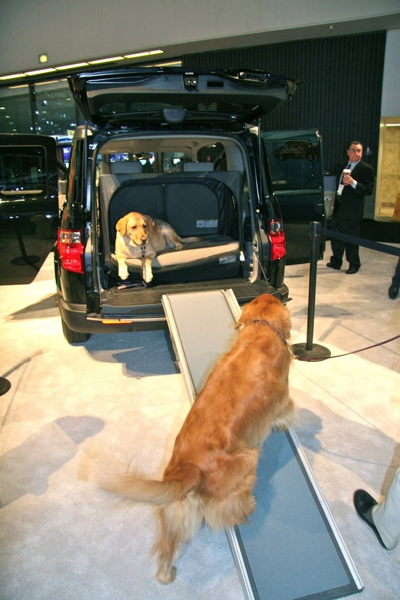 Honda features Element's Dog Friendly System at the LA Auto Show