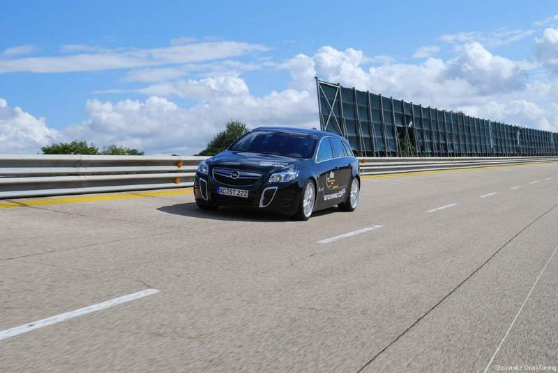 Steinmetz Insignia Sports Tourer becomes the fastest street legal Opel ever