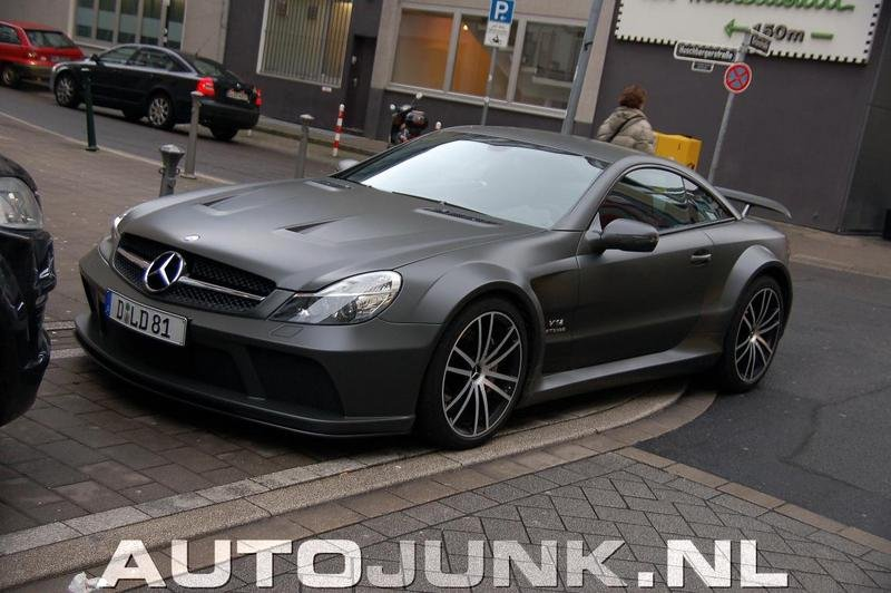 Matte Black Mercedes SL65 AMG Black Series Gallery 340286 ...