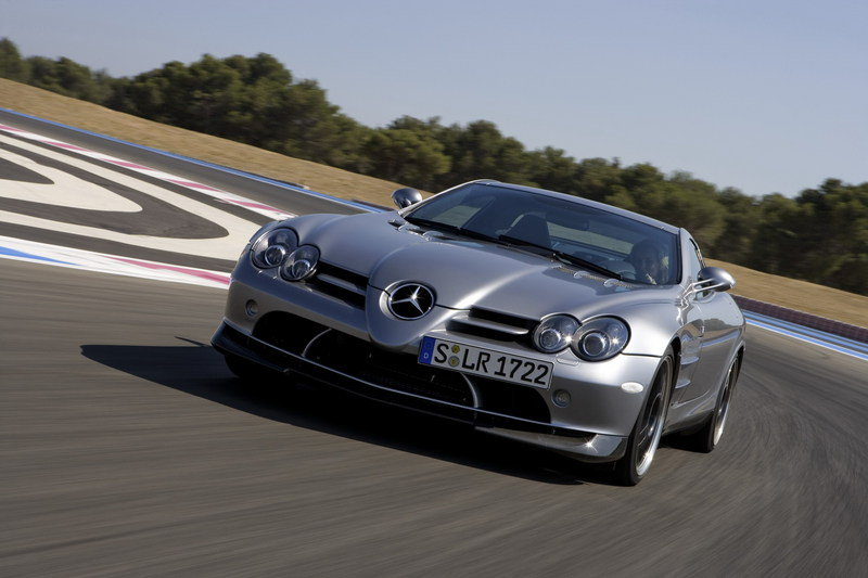 Mercedes SLR comes to an end