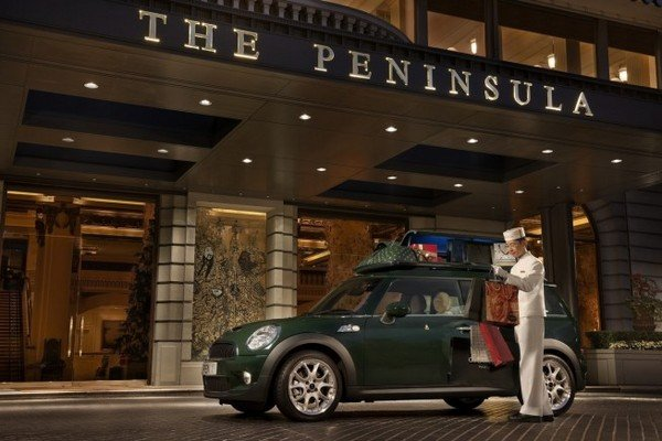 mini cooper s clubman peninsula hotel hong kong edition picture
