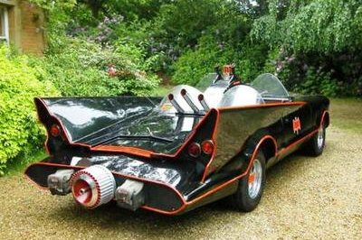 'Mk1' Batmobile up for auction