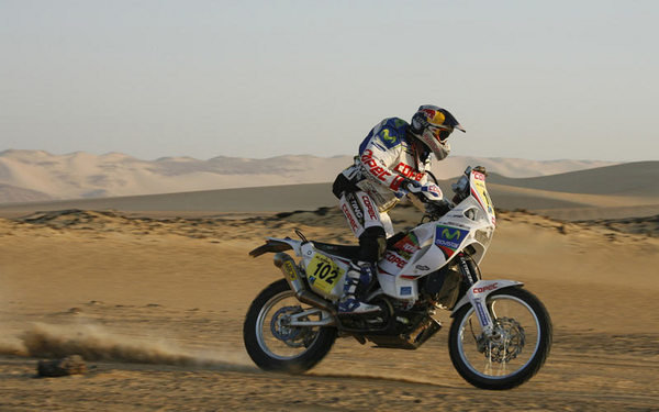 officially official 2010 aprilia mxv 4.5 dakar bike picture