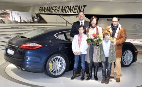 porsche welcomes 500 000th visitor to the porsche museum gives them a whole weekend with a panamera picture