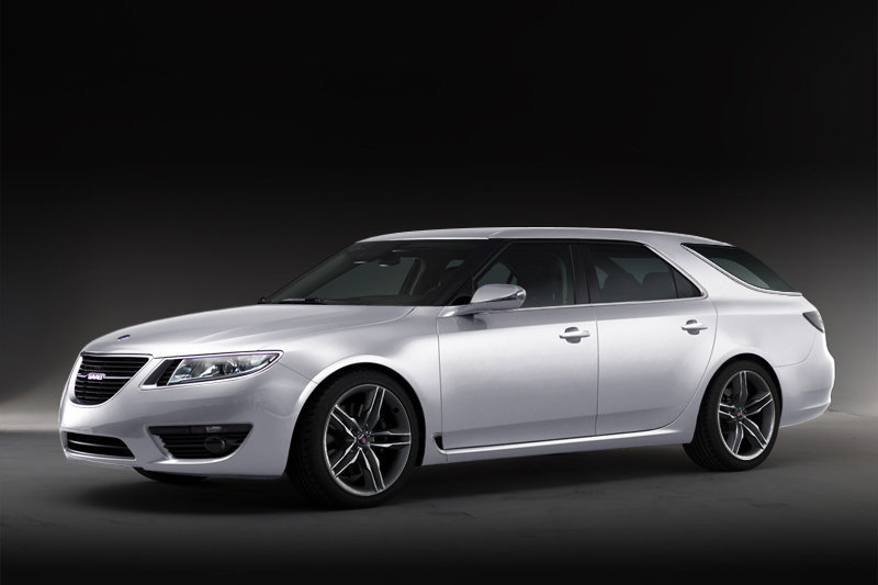 Saab 9-5 SportCombi - first image revealed