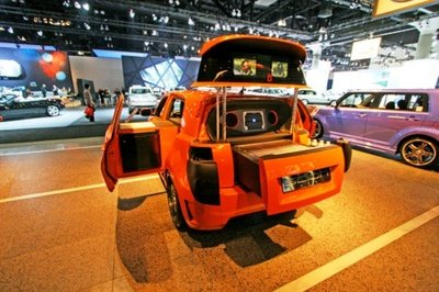 Scion's Kogi xD Mobile Kitchen by MV Designz at the LA Auto Show