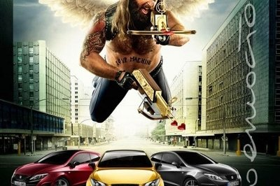 Seat rolls out new Ibiza print ad featuring Biker Cupid