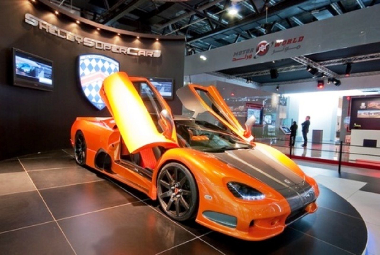 ssc ultimate aero makes appearance at dubai motor show news gallery top speed. Black Bedroom Furniture Sets. Home Design Ideas
