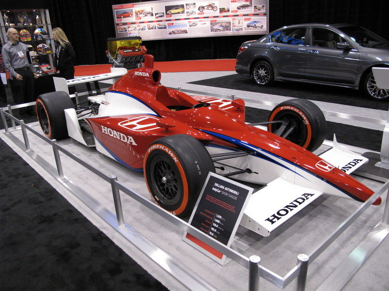 Honda Formula Cars at the 2009 SEMA Show