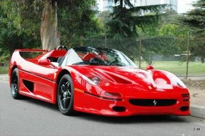 1995 Ferrari F50 supercar up for auction at $788,888