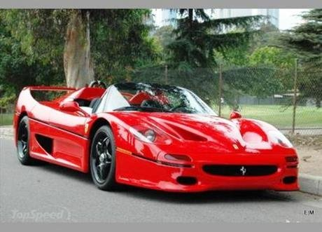 1995 ferrari f50 supercar up for auction at 788 888
