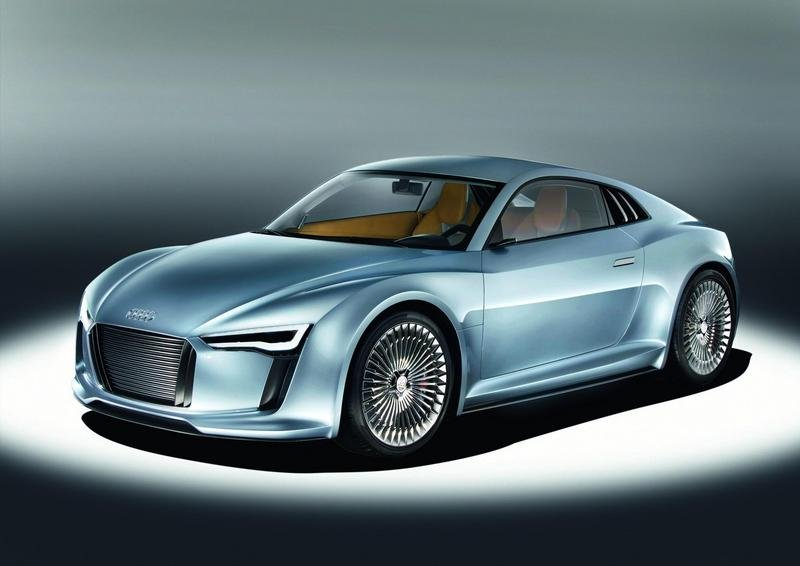 2010 Audi E-Tron Detroit Showcar Exterior Computer Renderings and Photoshop Wallpaper quality - image 341668