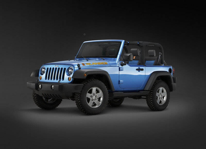 Tweet Yourself to the New York Auto Show and a Free Jeep Wrangler Islander