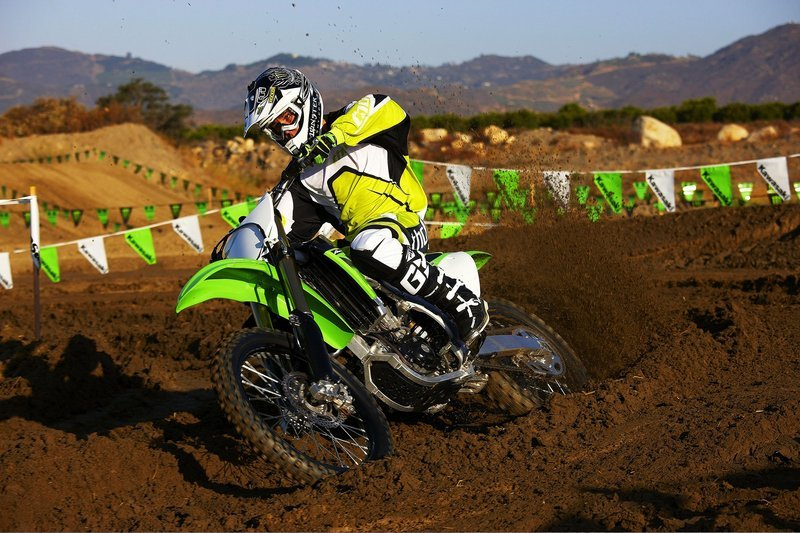 2010 Kawasaki KX450F/Monster Energy