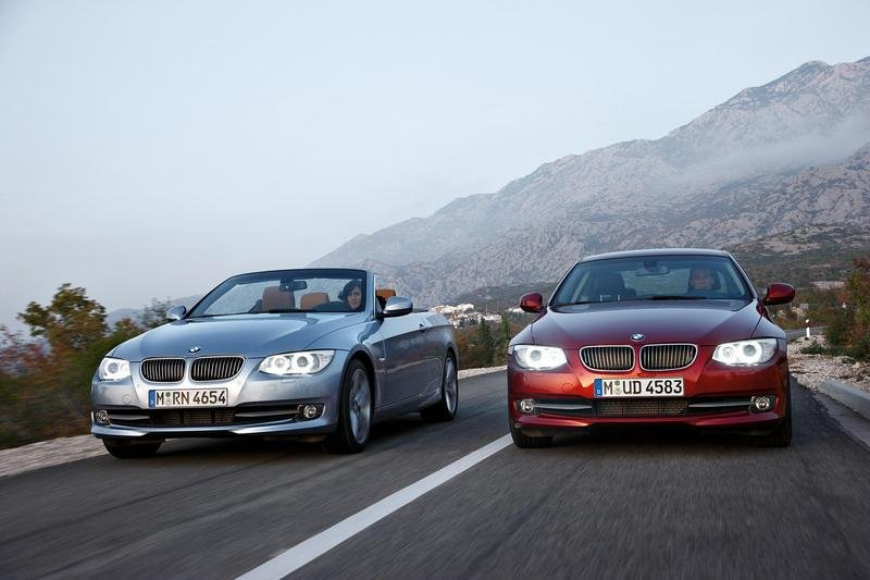 2011 BMW 3 Series Coupe and Convertible