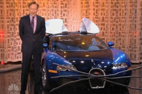 Conan O Brien S Bugatti Veyron Mouse Was Loaned From The