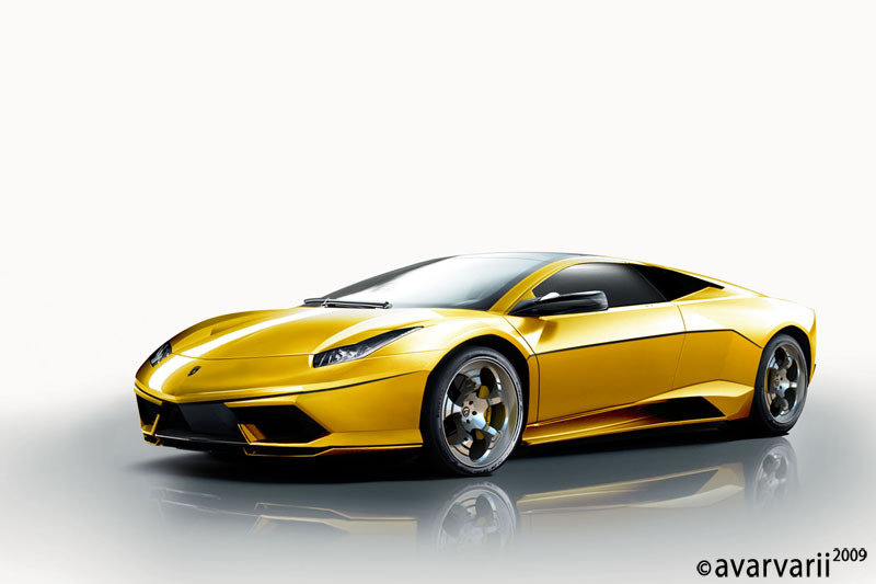 Lamborghini new Murcielago rendered by avarvarii
