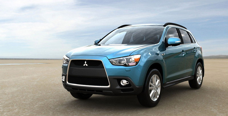 2011 Mitsubishi ASX Compact Crossover High Resolution Exterior - image 342991
