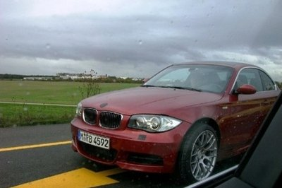 Possible BMW 1M spotted testing near M-Division headquarters