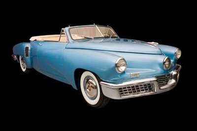 Tucker Club casts doubt on up-for-auction Torpedo convertible's authenticity