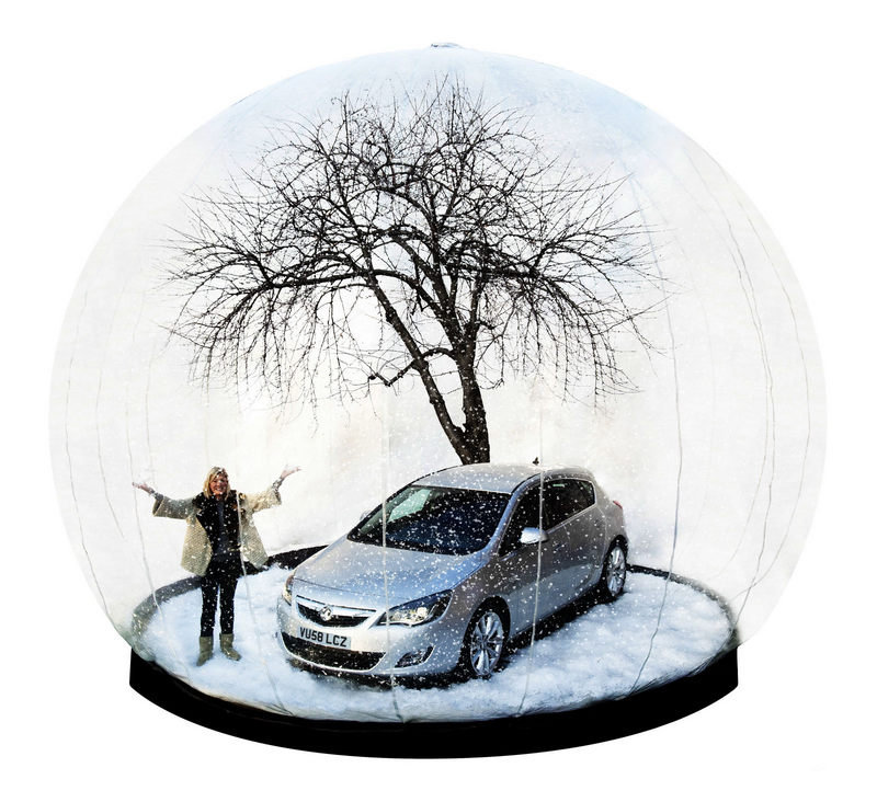 Vauxhall to bring giant snow globe to annual ice skate disco event