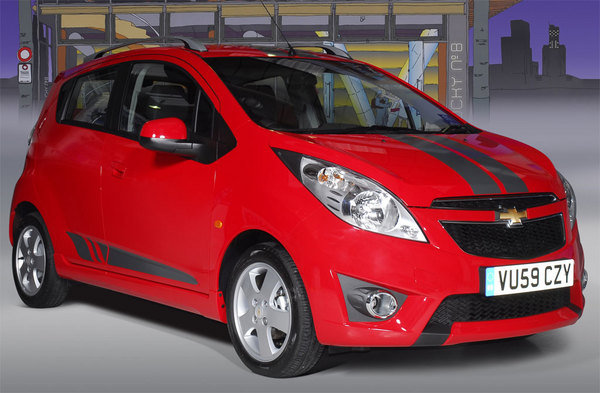 2010 Chevrolet Spark Tags Review - Top Speed