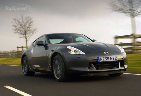 nissan 370z black. The exterior of the 370Z Black