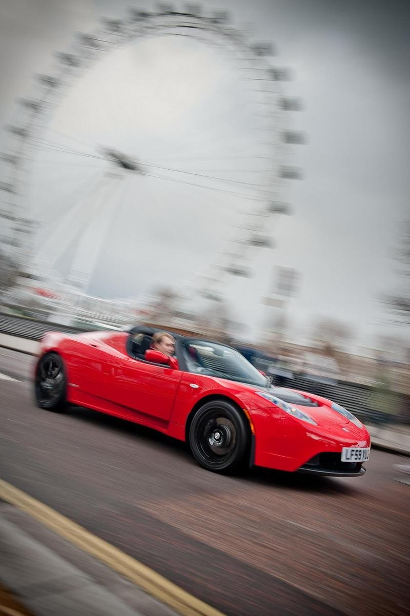 2010 Tesla Roadster Top Speed