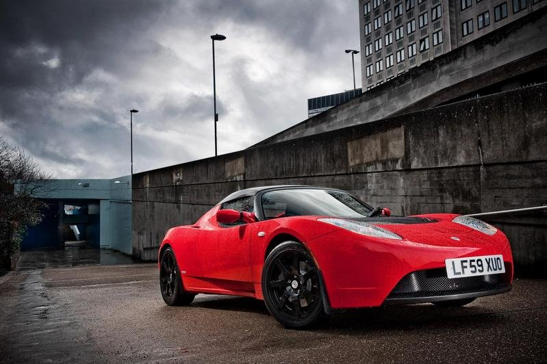 2010 Tesla Roadster right-hand-drive