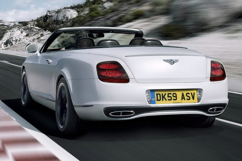 2011 Bentley Continental Supersports Convertible High Resolution Exterior - image 348515