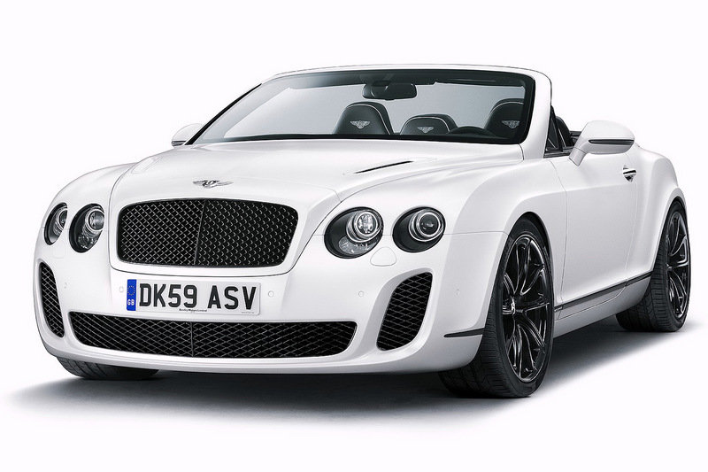2011 Bentley Continental Supersports Convertible High Resolution Exterior - image 348521