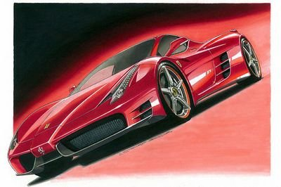 2012 Ferrari F70 rendered