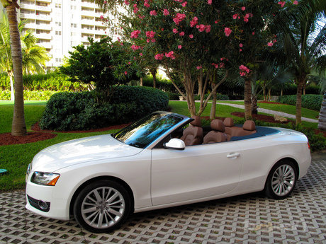 audi a5 cabriolet. When the luxurious four ringed German automaker