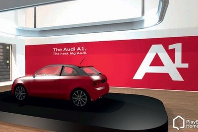 Audi Space brings A1 and E-Tron to Playstation Home